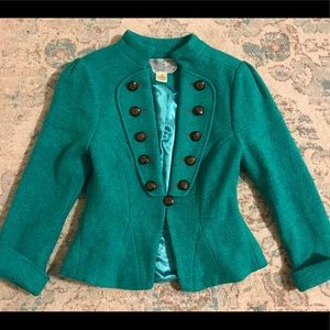 Gorgeous Nick and MoTeal blazer